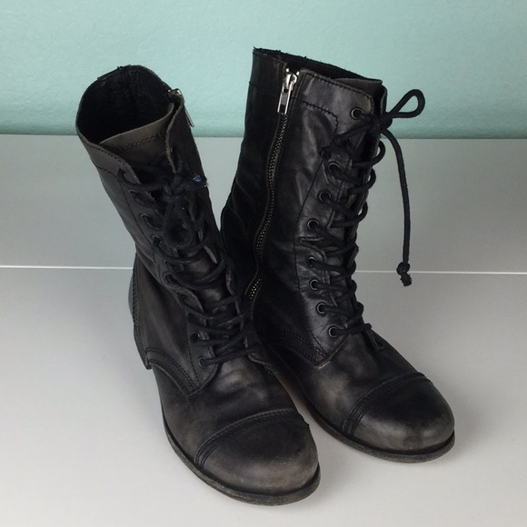 Allsaints Military Combat Boots